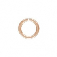 China OPEN JUMP RING 4mm/22G Rose Gold Filled - 10 PK on sale