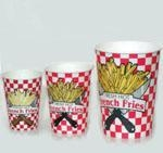 China French Fry Supplies French Fry Cups 3 sizes on sale