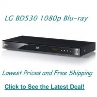 LG BD530 1080p Network Blu-ray Disc Player