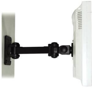 China D177A 12 Wall Mount LCD Monitor Arm & Bracket - Swivel - Tilt - Rotate on sale