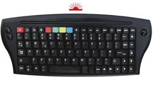 China WIRELESS DESKTOP Keyboard with trackball on sale