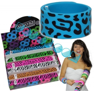 China Silicone bracelet slap /paipai/clap bracelet NO:U0105 on sale