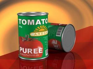 China Tomato Paste Canned tomato puree on sale