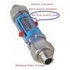 China Flow meter EV-series plastic pipe liquid/air flowmeter for sale