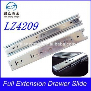China 42MM 3-fold drawer slide telescopic slides for metal dining tables on sale