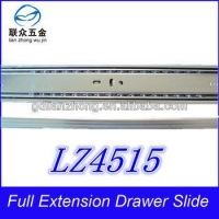 China 45MM 3-fold drawer slide china plastic installing drawer slides on sale