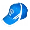 China Caps Blue Embroidered Baseball Cap for sale