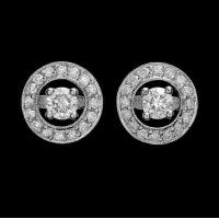 Jewellery Product 14K WHITE GOLD 1.4CT DIAMOND EARRINGS