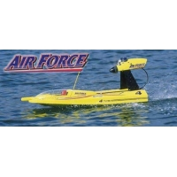 Radio Controlled Boats Aquacraft Airforce Airboat - Nitro RC Boat (AQUB29A)