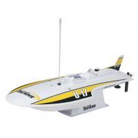 China Radio Controlled Boats Round Nose Hydroplane Remote Control Boat - AquaCraft Mini Thunder on sale