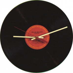 China Vinyl record clock: Willie Nelson - Stardust on sale