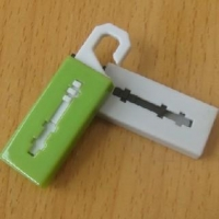 Wholesale Pen USB Drive Mini Hook USB flash drive with UDP memory