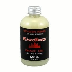 China SHAVING RazoRock 100% Natural Handmade Shave Gel 120ml on sale