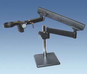 China Measuring Microscopes Articulate Arm (Flex Arm) Stand with Square Base on sale