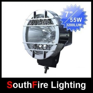 China 7' SUV Truck HID Offroad Light on sale