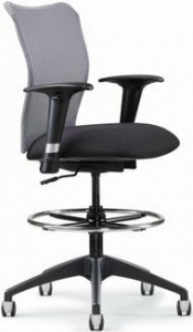 China All Seating Inertia Mesh Drafting Stool [78019] on sale