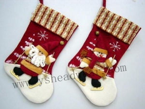 China Christmas socks on sale