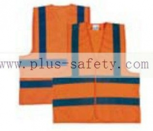 China Safety Vests Lowest price orange color traffic safety vest, FGY-002 on sale