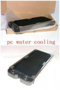 China 240mm dual fans classical design pc water cooling radiator on sale
