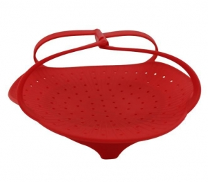 China Silicone Kitchenware Silicone Vegetable Steamer(HS-1042) on sale