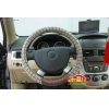 China Car Accessory Steering Wheel Cover flax for sale