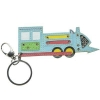 China K-T5 Leather-Made Train Keychain for sale
