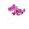 China M9 Cute Leather Dog Mobile Phone Strap for sale