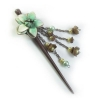 China H-P1 Leather Handmade Hair Pin for sale