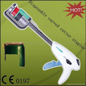 China Disposable Curved Cutter Stapler on sale
