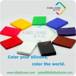 China Silicone color master batch block on sale
