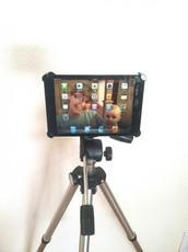 China iPad Tripod Mount iPad Mini Tripod Mount / iPad Mini Tripod Bracket on sale