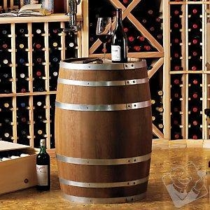 China Bar Furniture Decorative 30 Gallon Oak Wine Barrel on sale