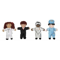 China Children's Factory Sweat Suit Dolls Set of 4 Doll Costumes Set B on sale