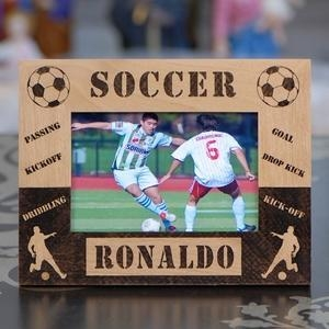 China Personalized Soccer Photo Frame on sale