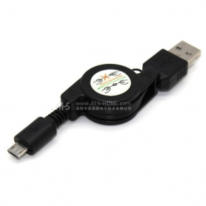 China USB Cable retractable micro USB cable on sale