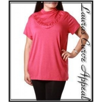 Womens PLUS SIZE Clothing Mauve Pink Top 1X 14/16