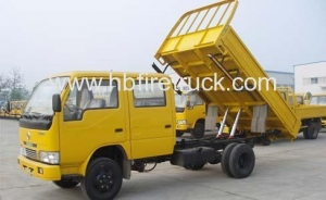 China 1ton DAFC double row cabin small dumper on sale