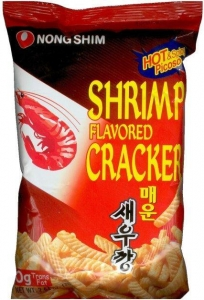 China SHRIMP FLAVORED CRACKER HOT & SPICY on sale