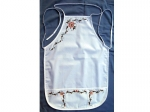 Apron Adult White Style: Daisy *FREE S & H*[Daisy]