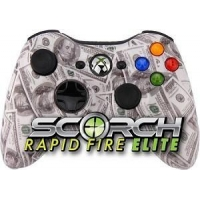 Controllers 100 Dollar Bill Scorch Elite Rapid Fire Controller for Xbox 360