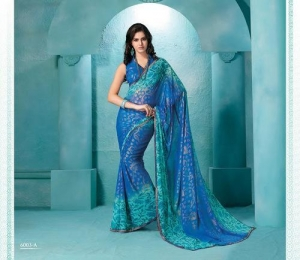 China Printed Sarees on sale