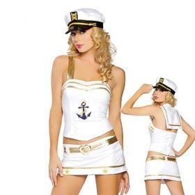 China Sexy Costume wholesale clubwear sexy women pirate costume from sexy lingerie store on sale