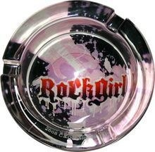 China Rock Girl Glow In The Dark Ashtray AT-0130-GL on sale