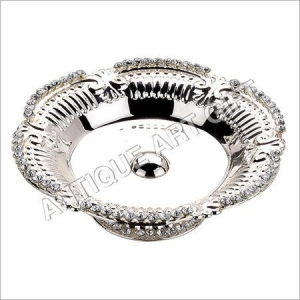 China Designer Silver Plated Fruit Bowl on sale
