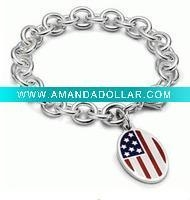 China 2011 new fashion 925 sterling silver tennis bracelet on sale