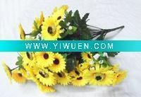 China Artificial Crafts(970) 18 heads african daisy artificial flower on sale