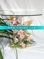 China Artificial Crafts(970) Angel Series Tea Table Resin Crafts on sale