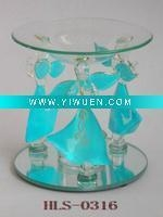 China Artificial Crafts(970) Beautiful & Lovely Blue Angel oil burner on sale