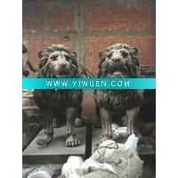 China Antique Imitation Crafts(647) Bronze Lion Statue on sale