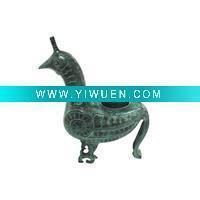 China Antique Imitation Crafts(647) Bronze Animal, Bird statue on sale